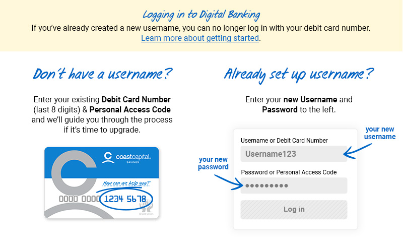 Coast Capital Savings - Online Banking